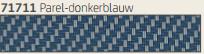 Hylas Screendoek Serge 71711A Parel-donkerblauw