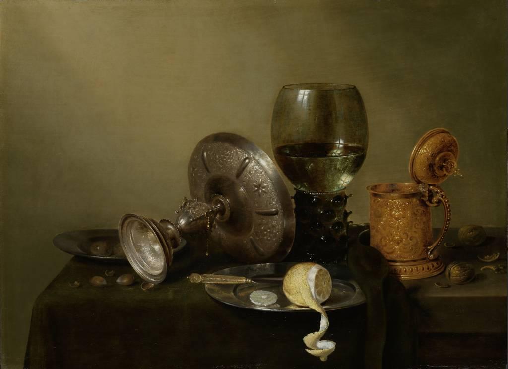 Rijksmuseum Stilleven met vergulde bierkan, Willem Claesz. Heda, 1634