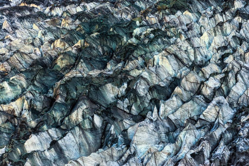 Umo Art Gallery ICE Texture in Hopper Glacier
