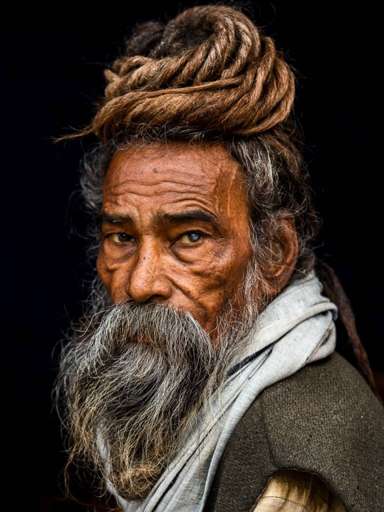 Umo Art Gallery Portrait of a Sadhu...