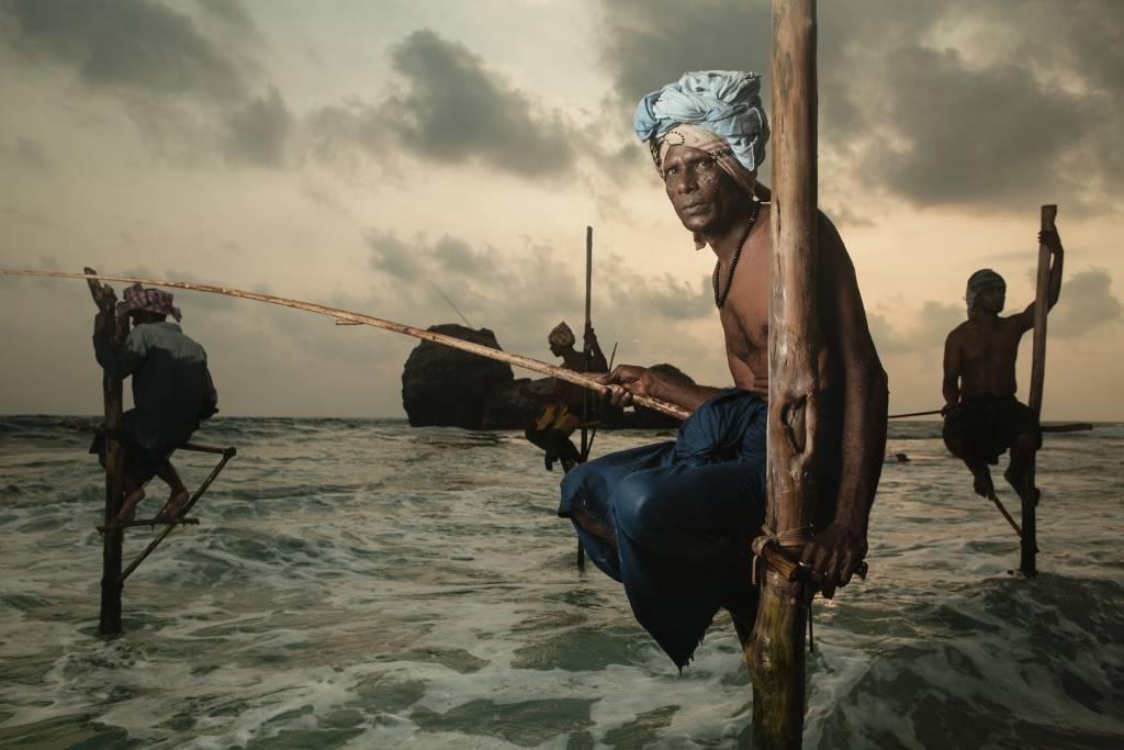 Umo Art Gallery The Stilt Fisherman.