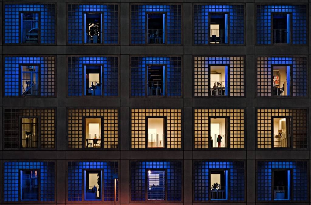 Umo Art Gallery somewhere in the windows
