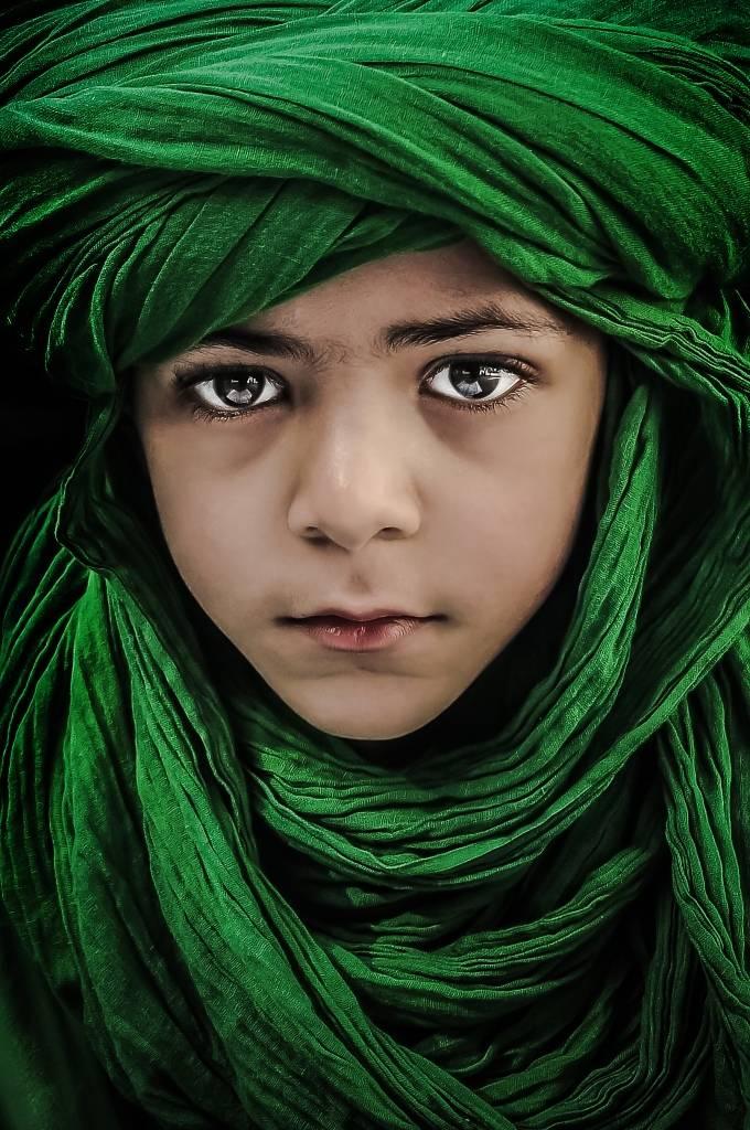 Umo Art Gallery Green Boy
