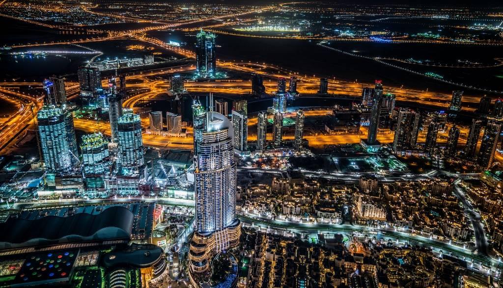 Umo Art Gallery Dubai Night