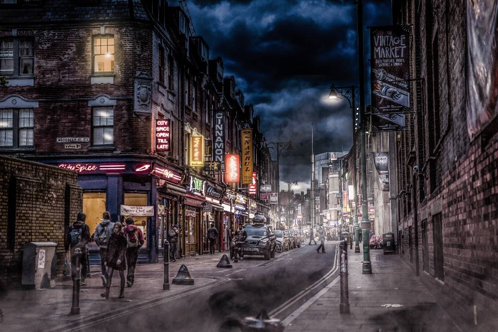 Umo Art Gallery Street Stories - Old London
