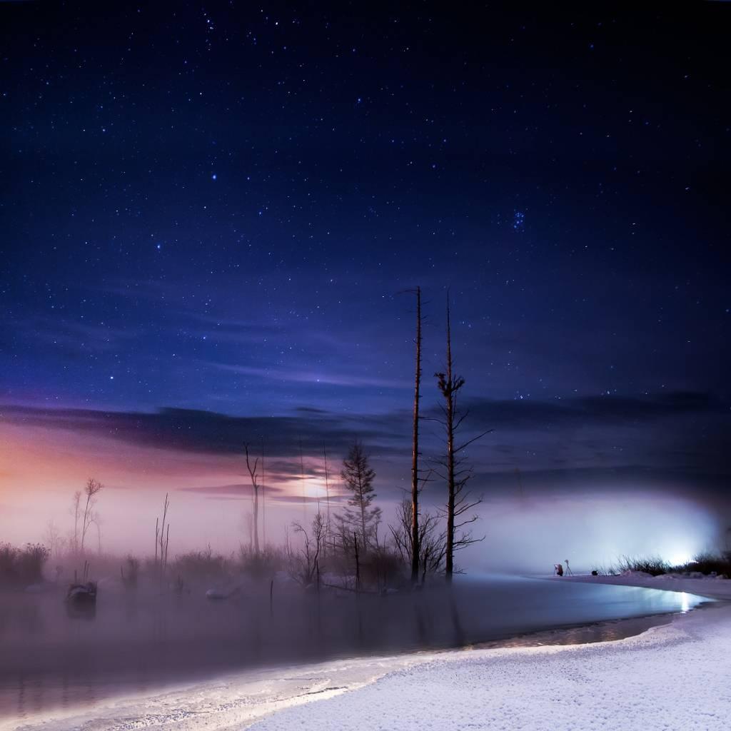 Umo Art Gallery A winter night