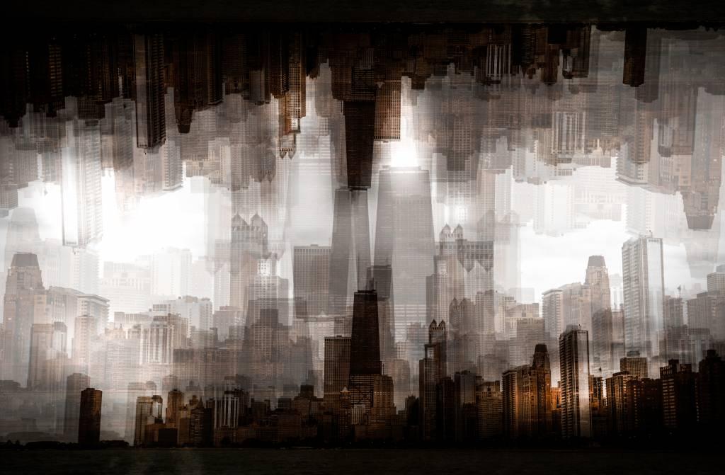 Umo Art Gallery Chicago skyline