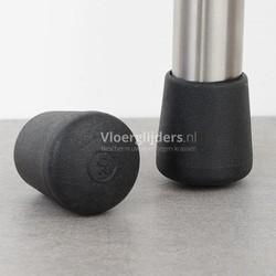 Stoelpootdoppen ombuis zware kwaliteit rubber