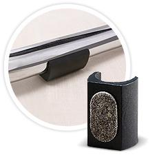 viltglijder xl voor buisframes. Black Bedroom Furniture Sets. Home Design Ideas
