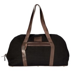 REISETASCHE LONDON canvas schwarz
