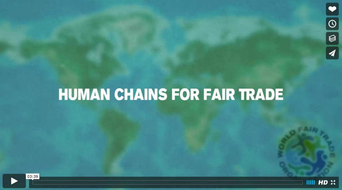Human Chains for Fair Trade