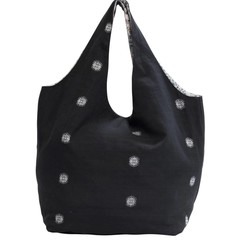 HOBO BAG SHOPPER BEACH schwarz