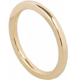Ohlala Round Gold