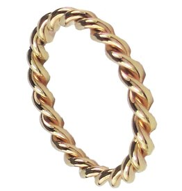 Ohlala Twisted Gold Steel