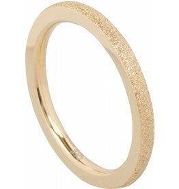 Ohlala Round Sanded Gold
