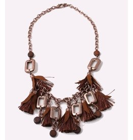 A-Zone Ketting brown