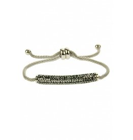 Fashion Jewelry RVS Armband Mariah - Grey