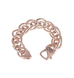 """B & L Stainless Steel Armband """"Dallas"""" Rose"""