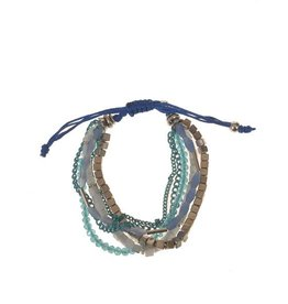 Wings Byou Verstelbare armband Blue