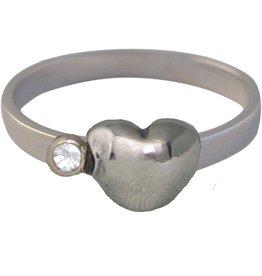 KIDZ CHARMIN*S Love HEART & DIAMOND WHITE KR33