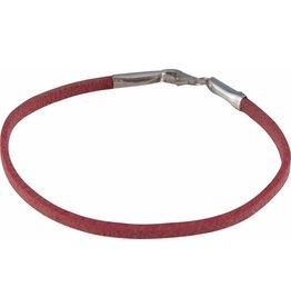 KIDZ CHARMIN*S MBJ10.11.12 Beads Armband Leer Roze