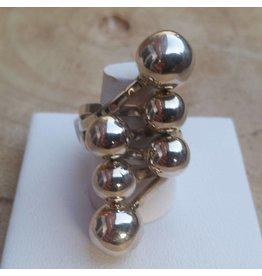 Zilveren ring R122-TT
