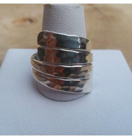 Zilveren ring R1074 Mt18