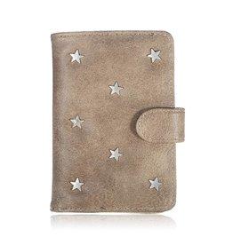 Yehwang Paspoort Case Star Light Brown