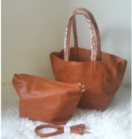 Giuliano Bag in Bag - Cognac