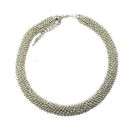 Fashion Jewelry Ketting Silver Nops