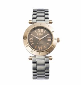 IKKI Daisy Horloge D6M, 40mm Silver-Taupe-Rose