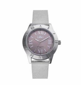 IKKI Reed Horloge RD01, 42mm Silver Brown