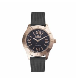 IKKI Horloge REED, RD06, 42mm Black Rose-Gold