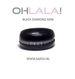 Ohlala Ring Set Black Diamond Mini