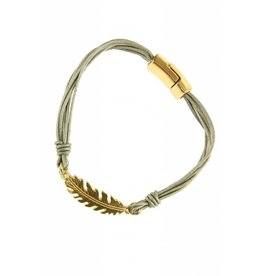 Armband Feather Silver