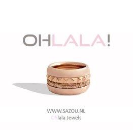 Ohlala Ringen Set Pink Lady
