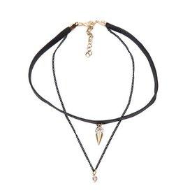 Fashion Jewelry Choker Black - 2019