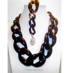 Fashion Jewelry Ketting Set Black Beauty