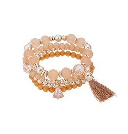 Fashion Jewelry Armband set Brush - 3 kleuren optie