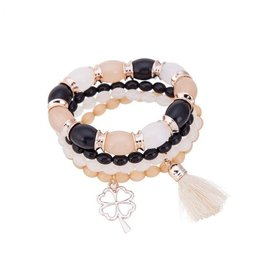 Fashion Jewelry Armband set Klaver