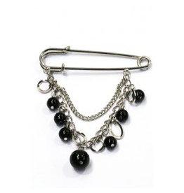 Fashion Jewelry Shawl Speld Zilver met kettinkje