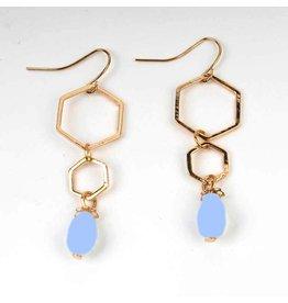 Fashion Jewelry Oorbellen Fancy - Baby Blue