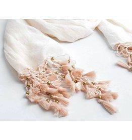 Fashion Jewelry Sjaal Summer Peach