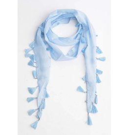 Fashion Jewelry Sjaal Skinny Denim Blue