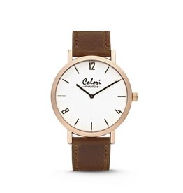 Colori Horloge PHANTOM SAND ROSE GOLD 5-COL437
