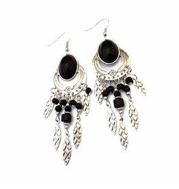 Fashion Jewelry Oorbellen Bohemian Black