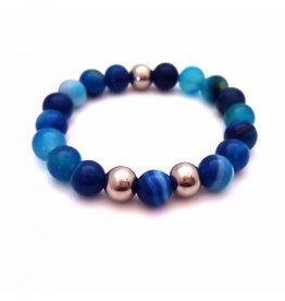 Sazou Jewels Armband Shiny Blue
