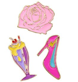 Fashion Jewelry Fashion Pins / Set van 3 / PINS009