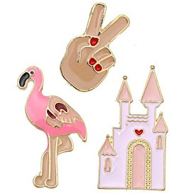 Fashion Jewelry Fashion Pins / Set van 3 / PINS011