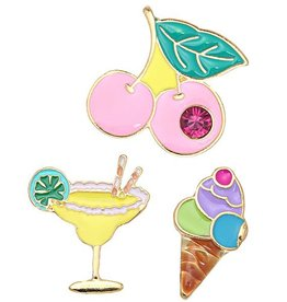 Fashion Jewelry Fashion Pins / Set van 3 / PINS012